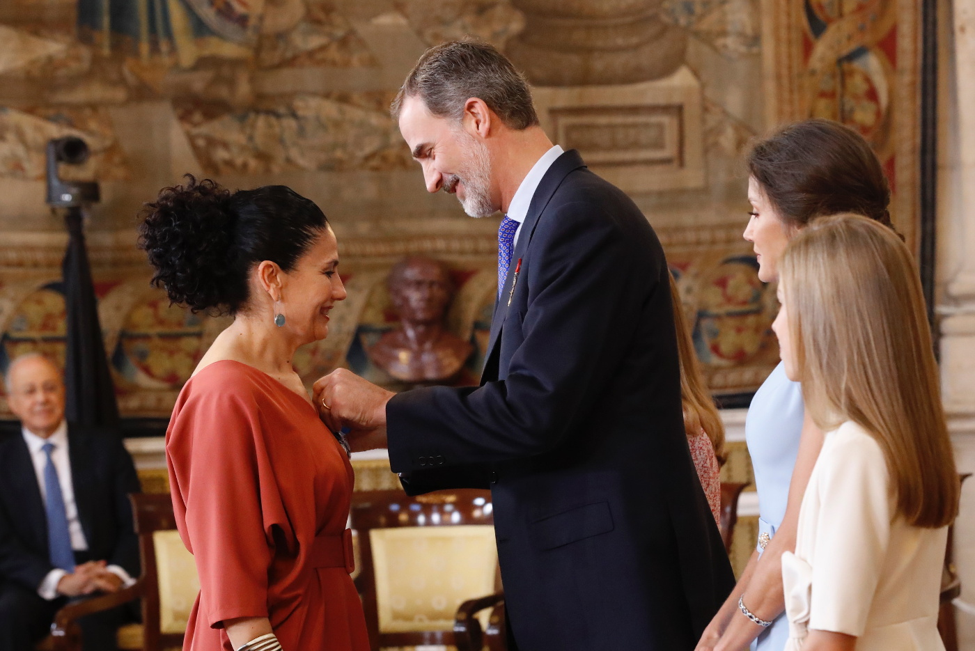 Spanish royals attend Order of Civil Merit ceremony 2019