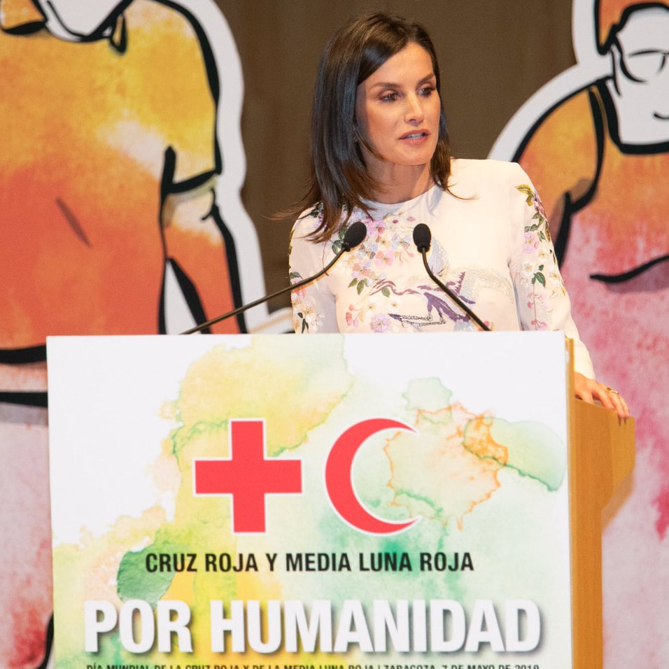 Queen Letizia attends Red Cross & Red Crescent World Day ceremony 2019