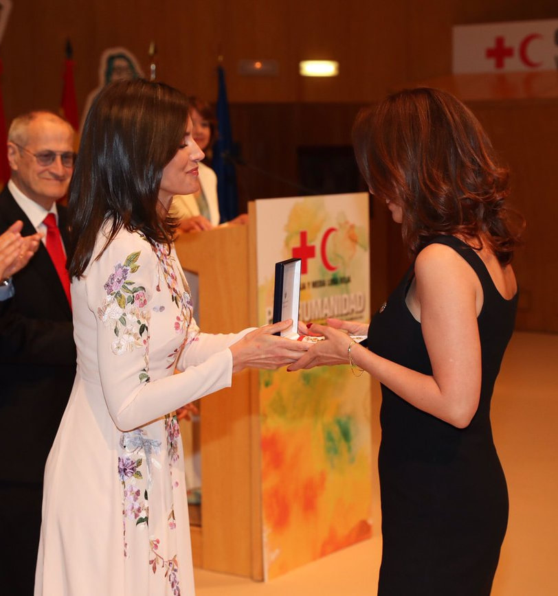 Queen Letizia presents awards at Red Cross & Red Crescent World Day ceremony 2019