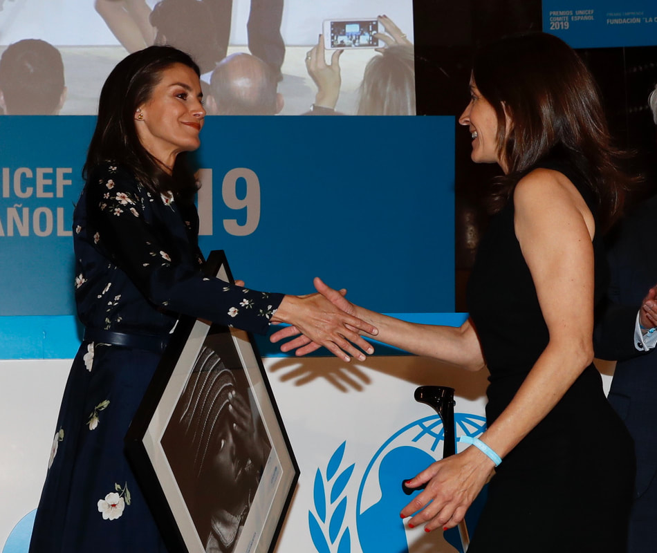 Queen Letizia delivers 2019 UNICEF Spanish Committee Awards