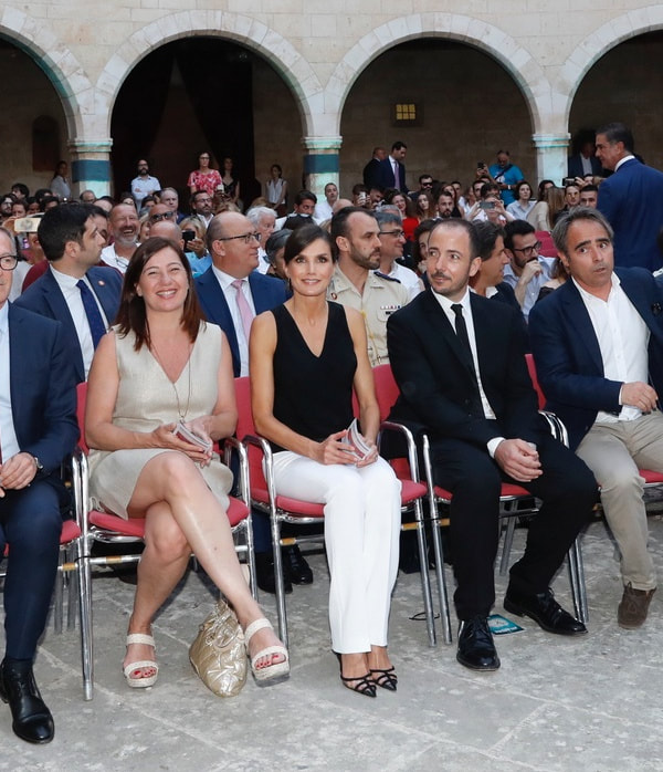 Queen Letizia attends the Atlàntida Film Fest 2019 in Palma, Mallorca