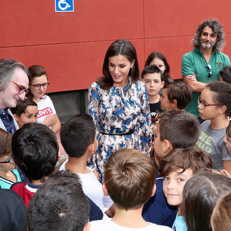 Queen Letizia visits CREER Center in Burgos