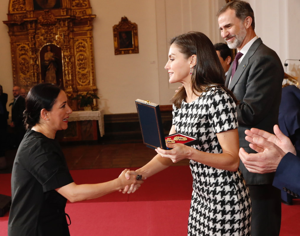 Queen Letizia and King Felipe deliver awards at the Gold Medals of Merit in Fine Arts ceremony in Córdoba