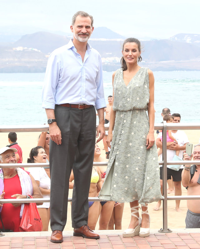 The King and Queen of Spain visit Gran Canaria and Tenerife on 23 June 2020