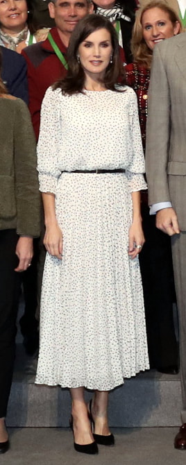 14 February 2020 - Queen Letizia attends commemoration of the 50th anniversary of the Doñana National Park