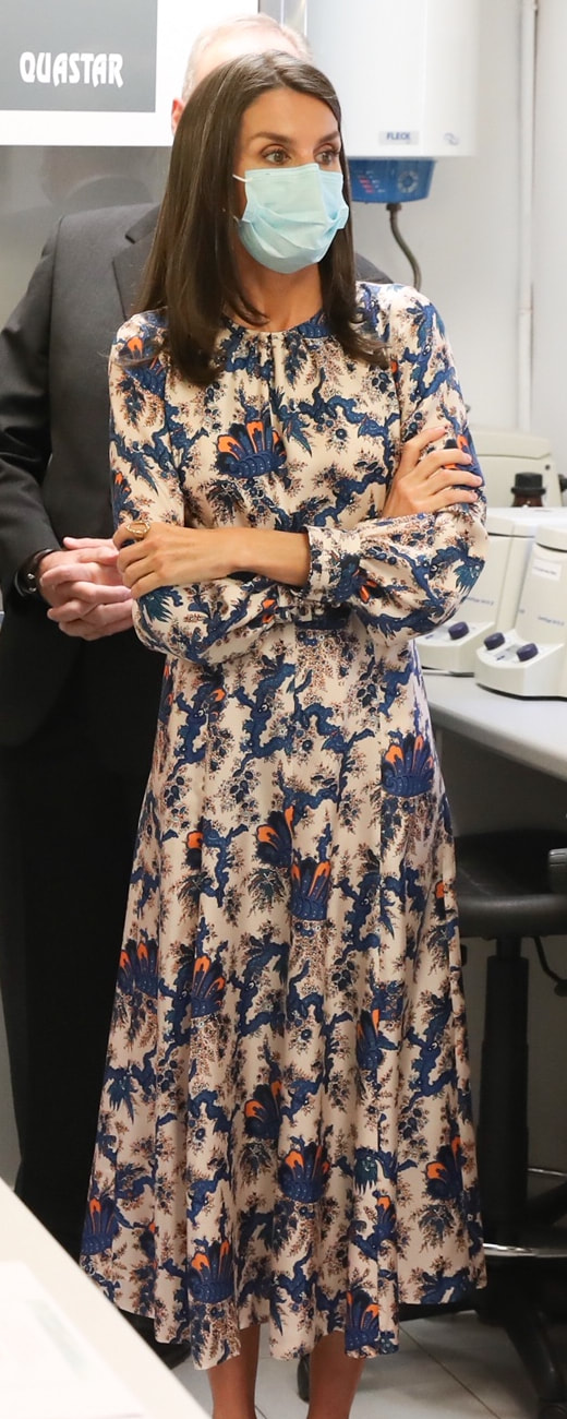 Queen Letizia visits National Museum of Natural Sciences on 15 June 2020