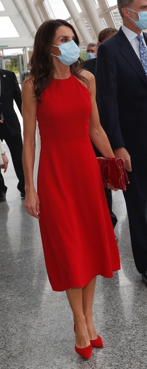 Queen Letizia attends the National Innovation and Design Awards on 3 July 2020