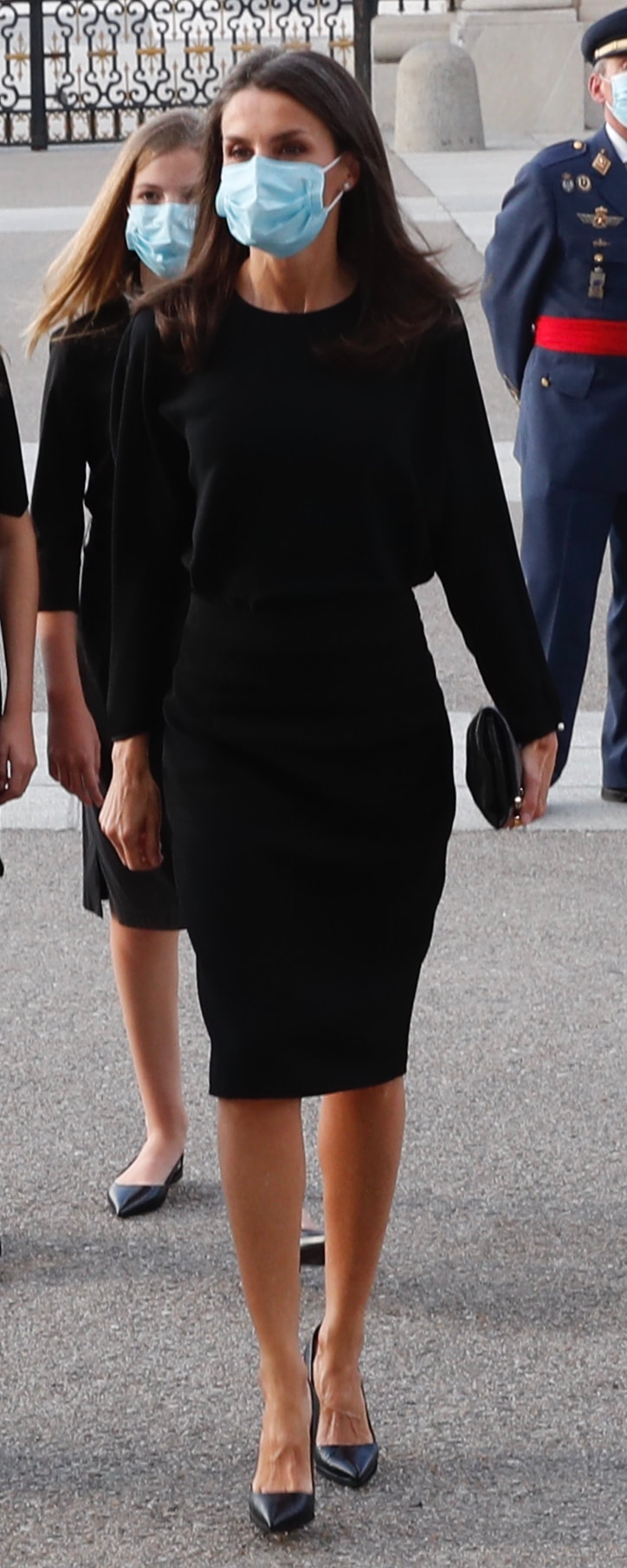 Queen Letizia attends a eucharist for the victims of COVID-19 on 6 July 2020