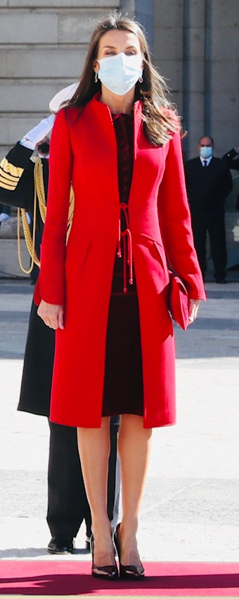 Queen Letizia celebrates National Day on 12 October 2020