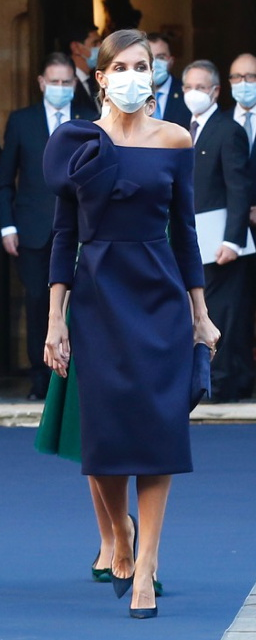 Queen Letizia attends Princess of Asturias Awards ceremony on 16 October 2020