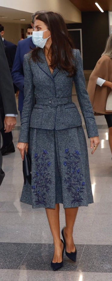 Queen Letizia attends opening of Toledo University Hospital on 16 November 2020