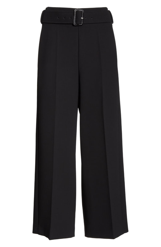 Hugo Boss 'Trimie' Wide Leg Crop Trousers