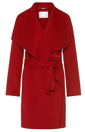 Hugo Boss BOSS Red Catifa coat