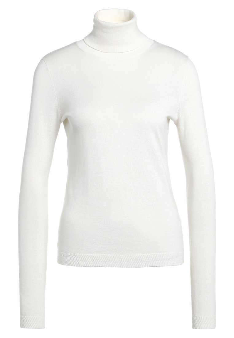 Hugo Boss Iddyana white turtleneck jumper