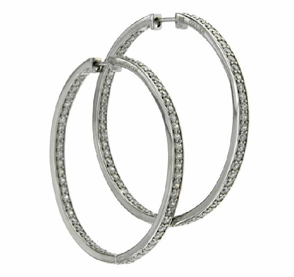 Coolook Roma hoop earrings