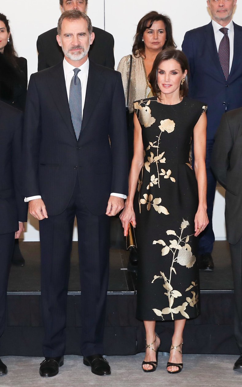 King Felipe and Queen Letizia attend 'Francisco Cerecedo' Journalism Prize 2019