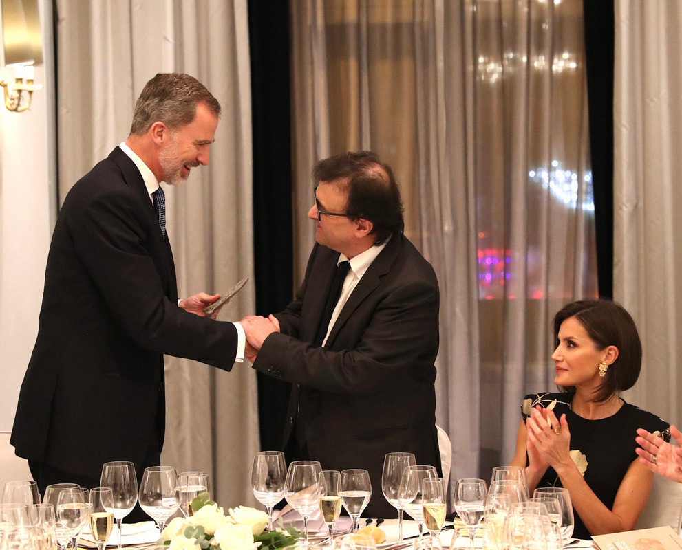 King Felipe and Queen Letizia deliver 'Francisco Cerecedo' Journalism Prize 2019