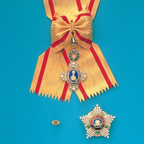 Grand Cordon of the Order of the Precious Crown
