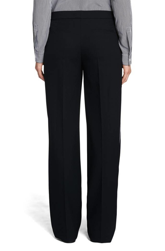 Hugo Boss BOSS 'Aminalia'​ trousers with side contrast stripes