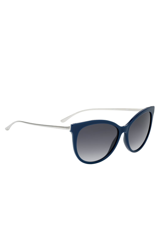 Hugo Boss cateye sunglasses with metal arms - Style BOSS 0892/S0S757HD - 58057643
