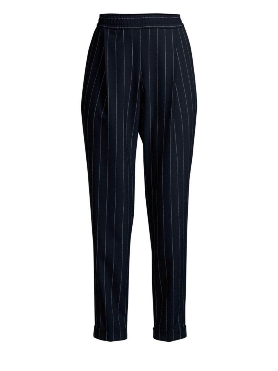 Hugo Boss Ariysa Pinstripe Cropped Trousers