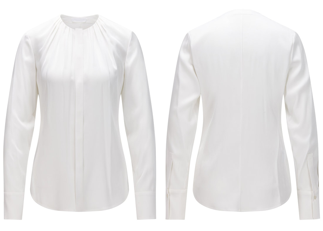 Hugo Boss 'Banora' silk blouse