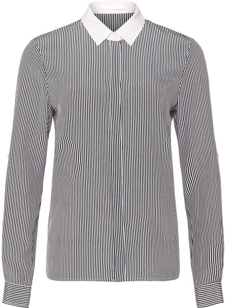 Hugo Boss BOSS Relgie stripe silk blouse