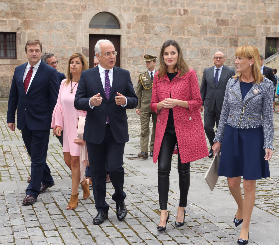 Queen Letizia attends XIII International Seminar on Language and Journalism 2018