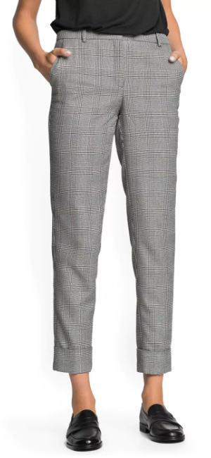 Mango 'Kennedy' Prince of Wales suit trousers