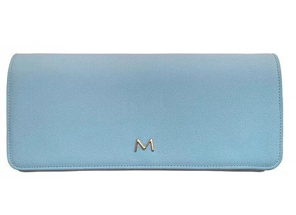 sky blue Mascaró 'Ceremony' clutch bag