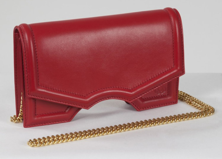 Reliquia red 'Archy' handbag