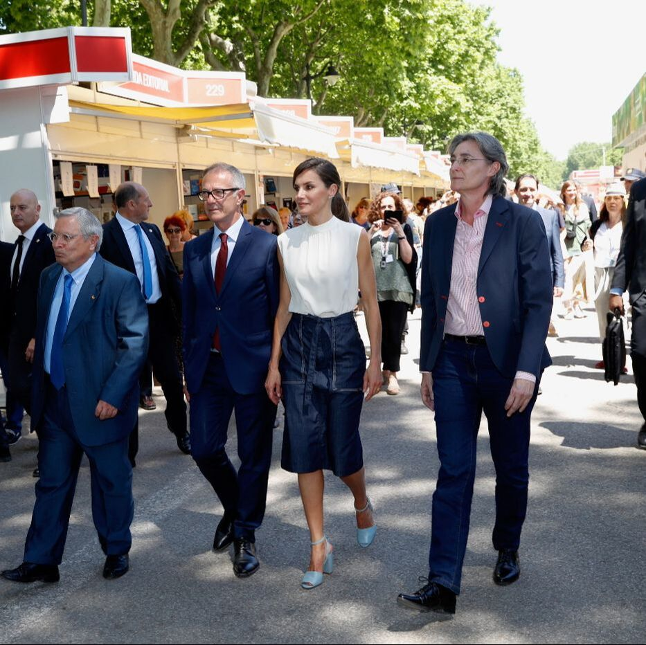 Queen Letizia at Madrid Book Fair 2019