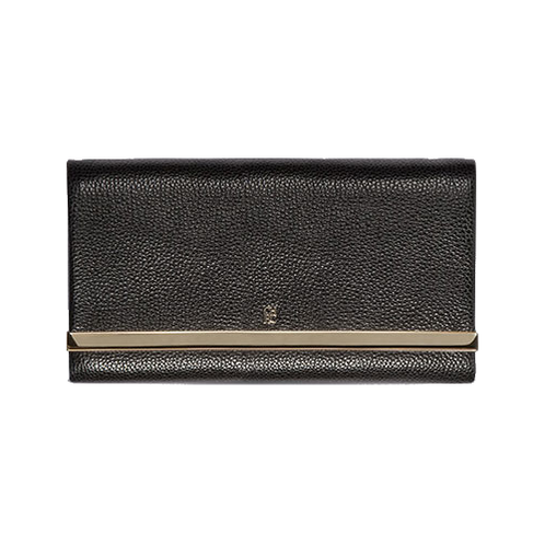 Carolina Herrera 'Astrud' black clutch bag