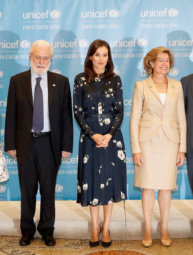 Queen Letizia attends 2019 UNICEF Spanish Committee Awards