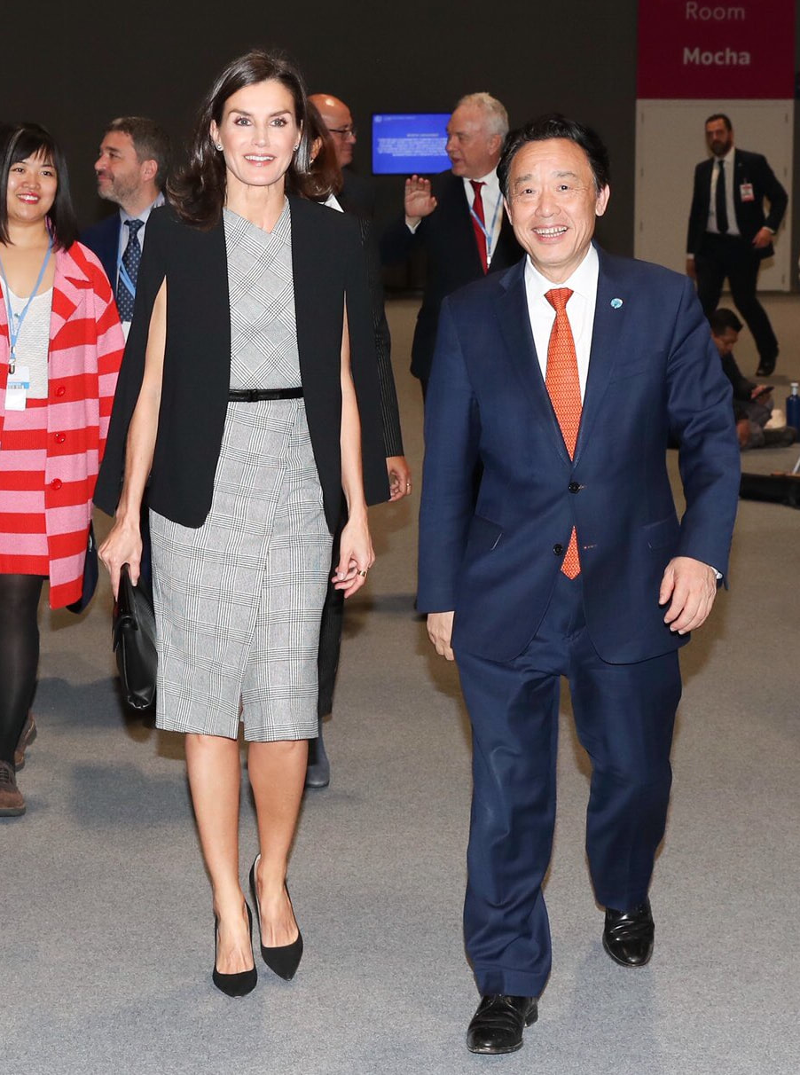 Queen Letizia attends events on Goal 12: Ensure sustainable consumption and production patterns