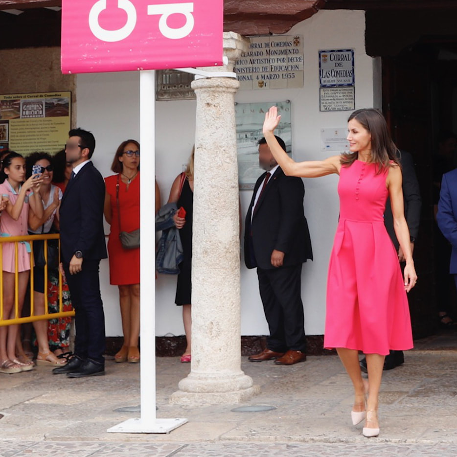 Queen Letizia in Almagro, Spain July 2019
