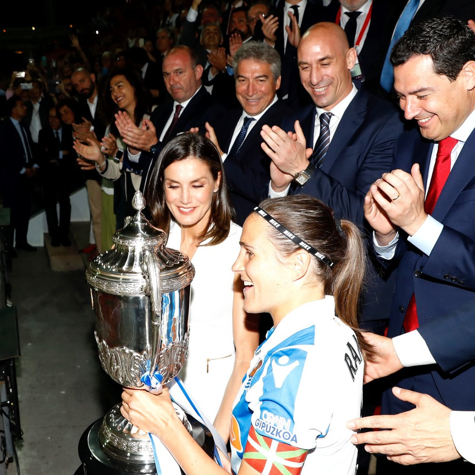 Queen Letizia presents Copa de Su Majestad la Reina 2019