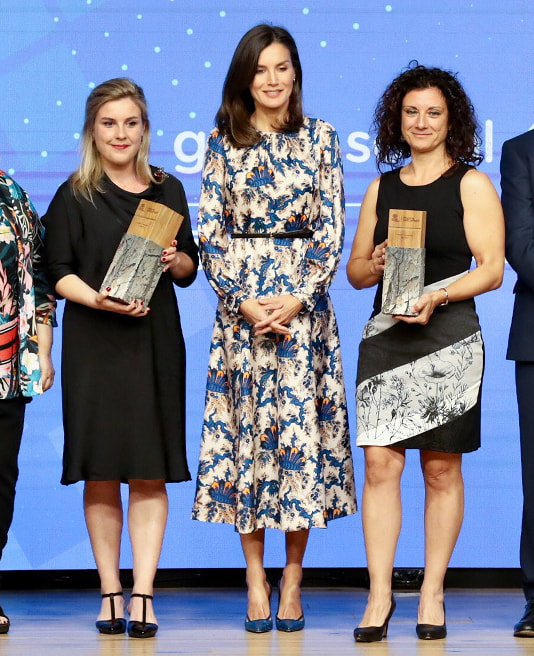 Queen Letizia attends 5th edition of Discapnet Awards 2019