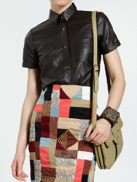 Uterque leather cross-body bag from Spring/Summer 2011 collection