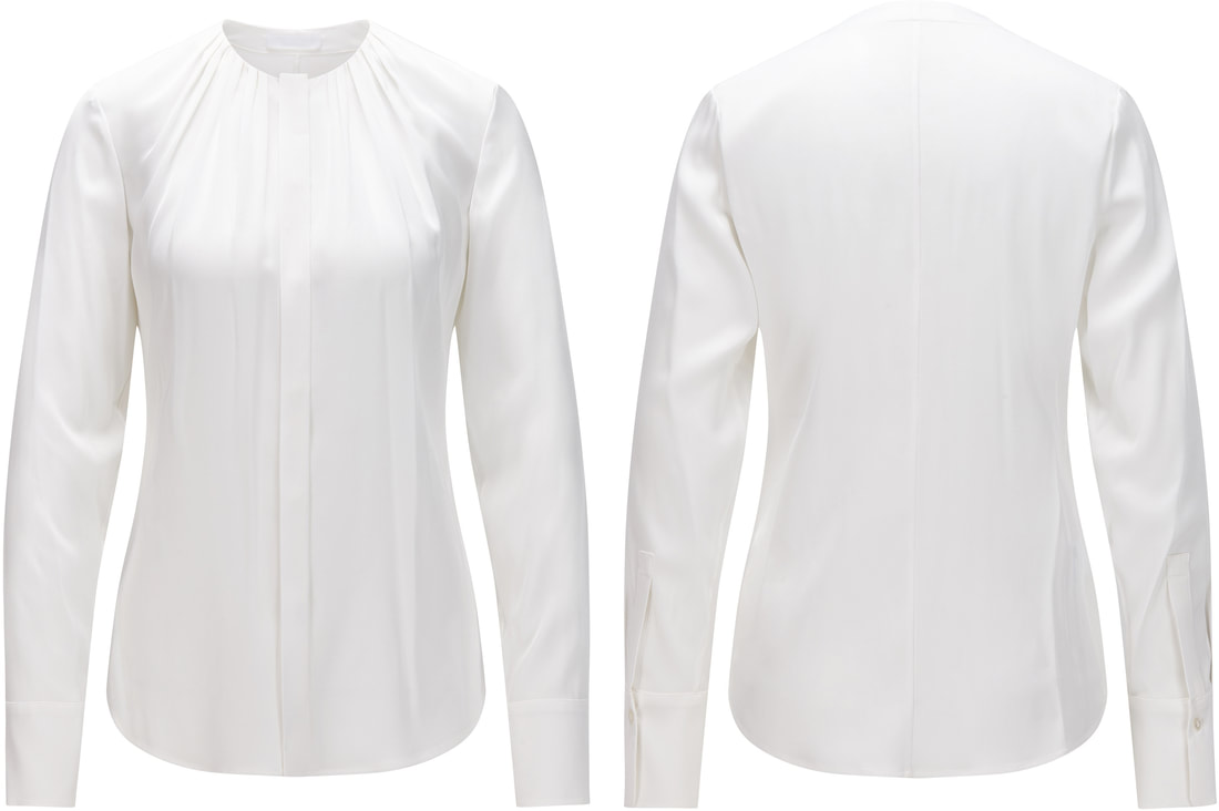 Hugo Boss Banora silk blouse