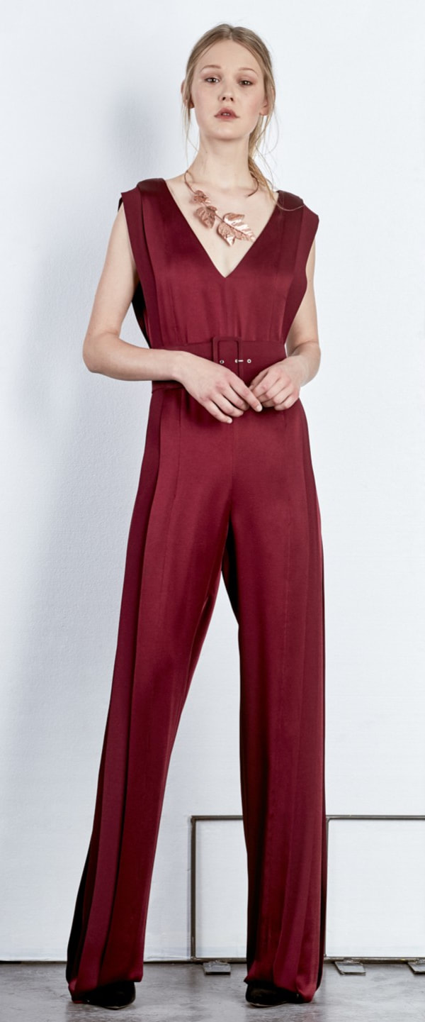 Angel Schlesser Sleeveless Jumpsuit